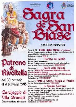 Sagra de San Biase dal 30 Gennaio al 3 Febbraio Rivoltella del Garda