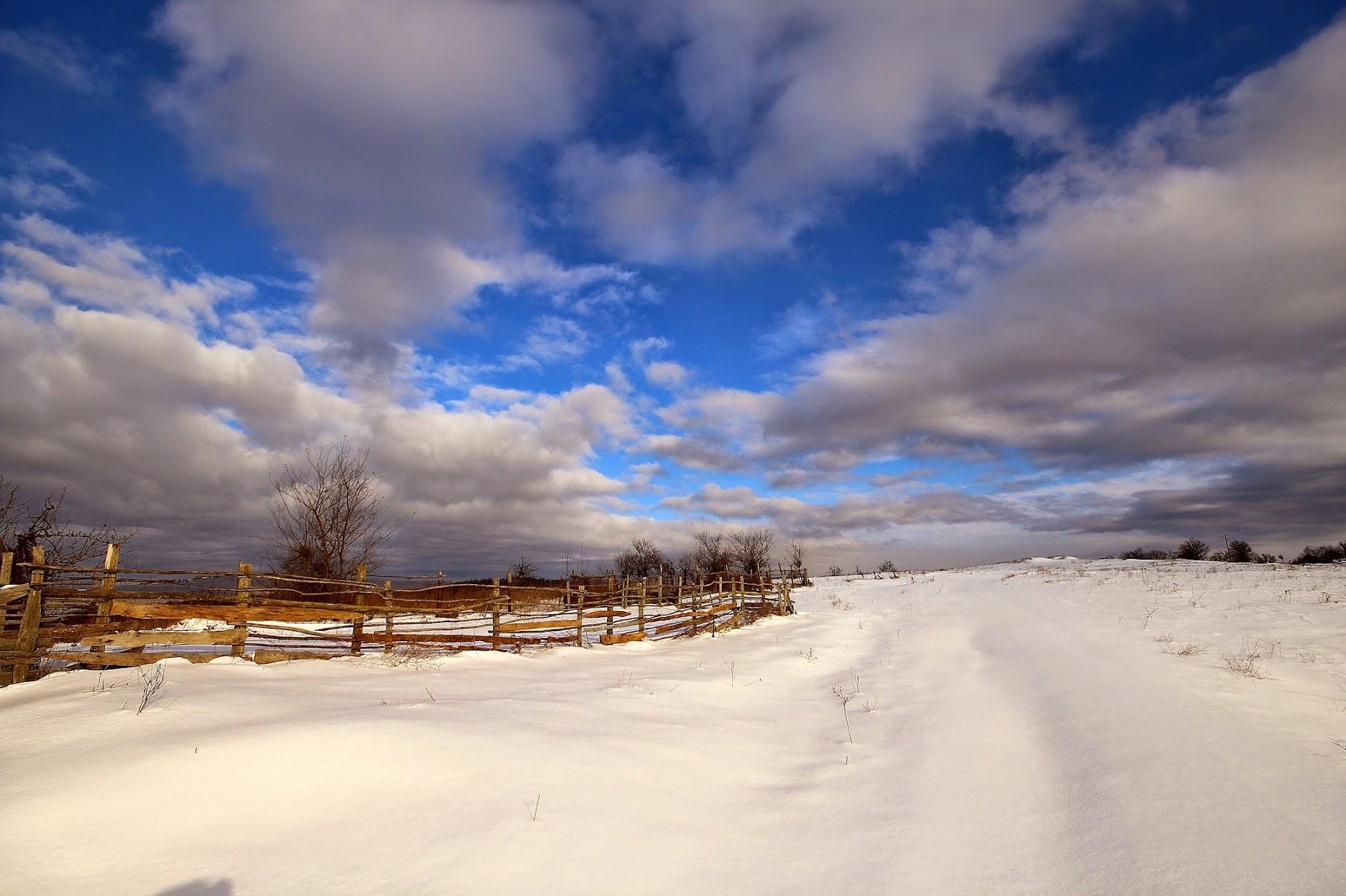 снимки сняг