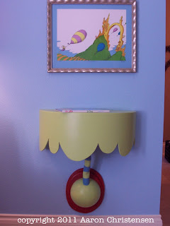 dr. seuss inspired table in a girl's bedroom / room by Aaron Christensen
