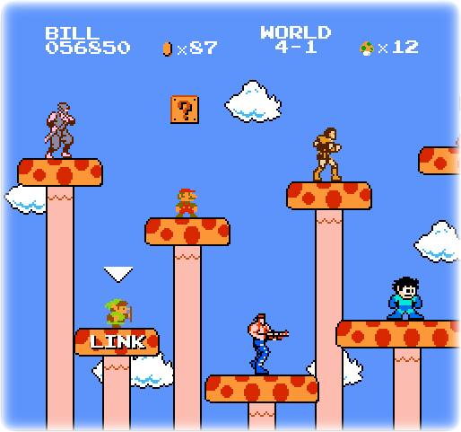 Download image super mario bros crossover pc android iphone and ipad