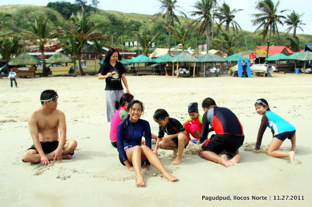 Blue Lagoon Beach in Pagudpud