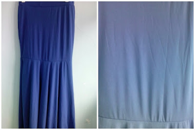Skirt Mermaid Biru