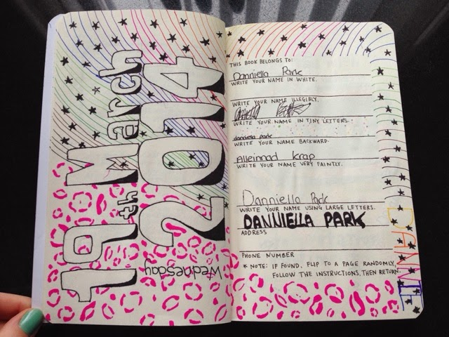 My wreck this journal journey : This book belongs to: