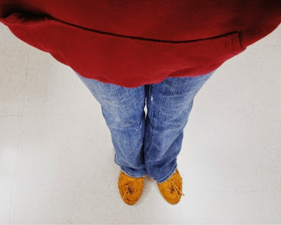 fashion, casual, moccasins, hoodie, red, mustard yellow