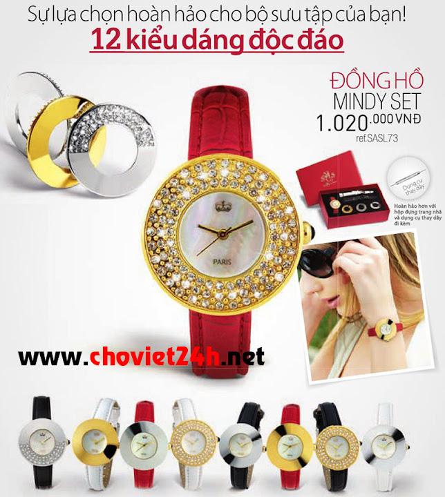 Đồng hồ nữ Sophie Mindy Set - SASL73
