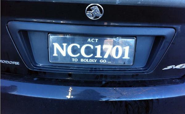 enterprise number plate