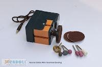 W50000M, Набор металлических профессиональных мини-станков 8 в 3 ручной шлифовальный станок