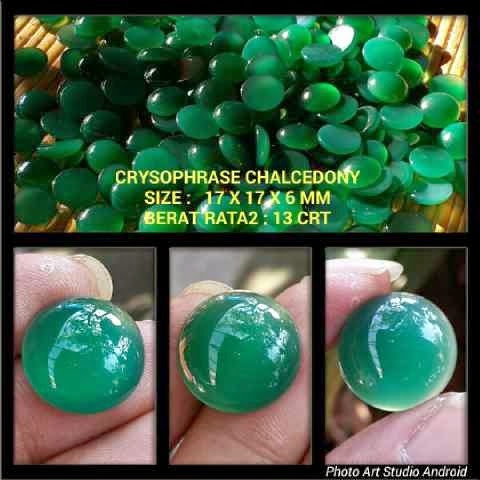 Crysophrase Chalcedony