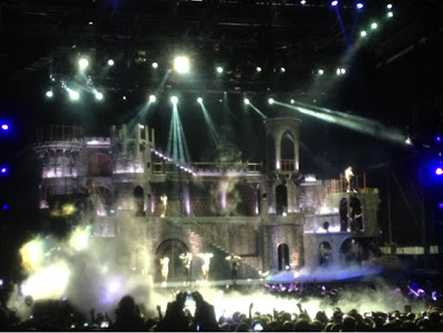 Lady gaga concert in Riga, Latvia.