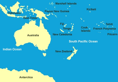 tahiti map of pacific All About Yacht Charters Supplementary Info Itinerary tahiti map of pacific