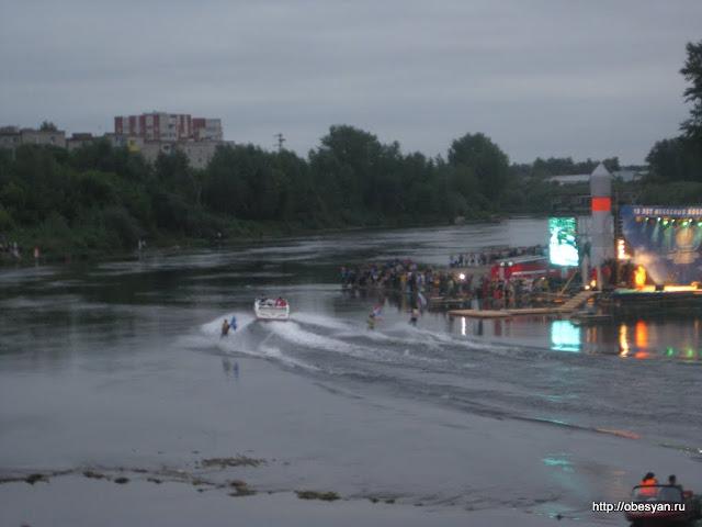 мэр кунгура на водных лыжах