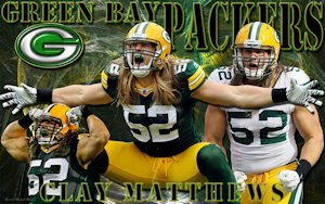 Clay Matthews Green Bay Packers Wallpaper