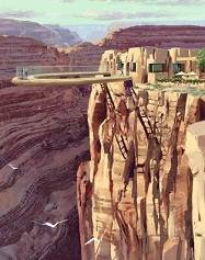 Grand Canyon Skywalk - Cầu đường trên không