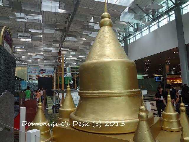 The golden pagodas