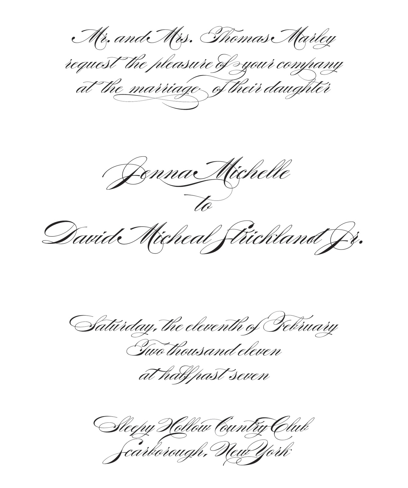 Cry Baby Ink: How to Word a Wedding Invitation - The 6 Essentials