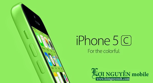 IPhone 5C copy Dai Loan giong chinh hang co wifi 3G