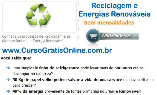 reciclagem e energias renováveis