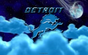 Detroit Lions Above The Clouds wallpaper