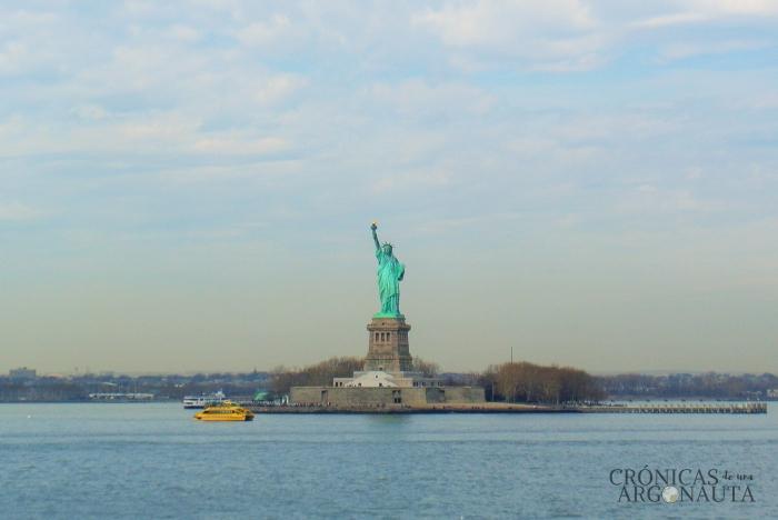 Viajar a New York para ver la estatua de la libertad