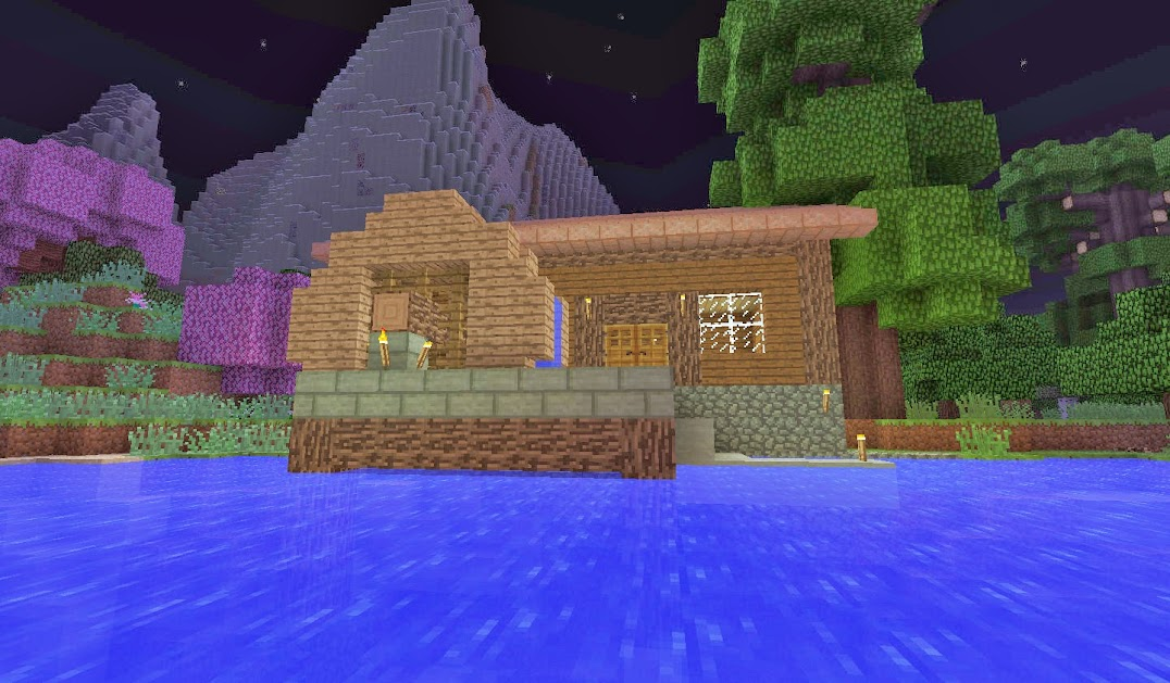 The Water Wheel Mine Build Eat Repeat
