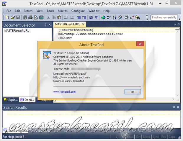 TextPad 7.4