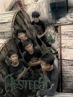 Photo Wallpaper Artwork Aestees band Brutal Death Metal jakarta