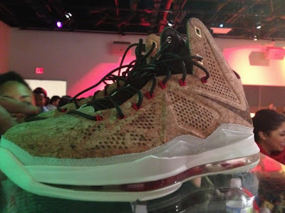 nike lebron 10 gr cork championship 3 11 Nike LeBron X NSW Cork Has Been Put on a Display