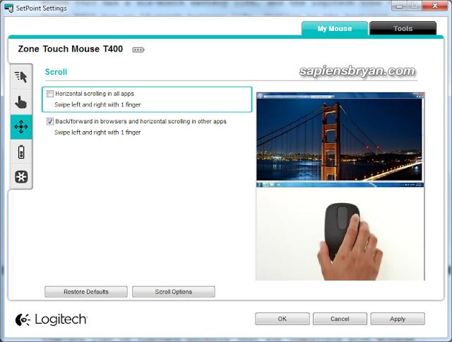 Logitech SetPoint Software