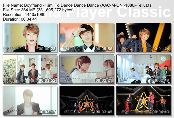 [PV] Boyfriend   Kimi To Dance Dance Dance (M ON! HD 1080i)