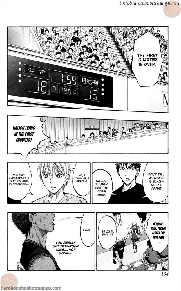 Kuroko no Basket Manga Chapter 65 - Image 18