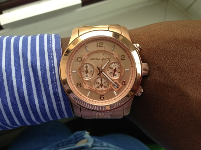Michael Kors Rose Gold MK8096 Watch
