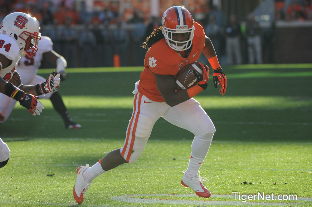 Clemson vs. NC State Photos - 2012, Andre Ellington, Football, NC State