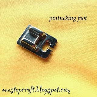 Sepatu Pintucking