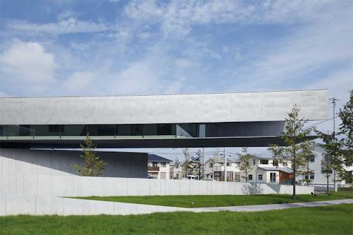 Hoki Museum Building design by Nikken Sekkei