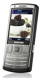 Samsung i7110 Symbian OS phone is one of newest member of i-series