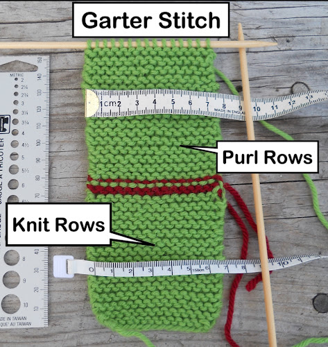 Knitting Garter Stitch Right Side : Woolfully Speaking: The Miracle of Garter Stitch