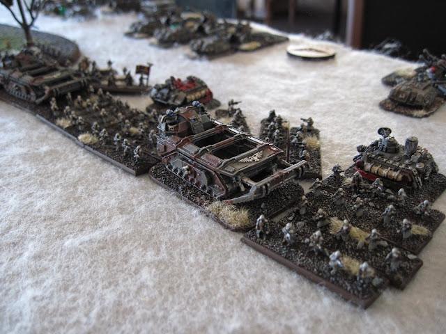 Matt's Krieg ready for battle.
