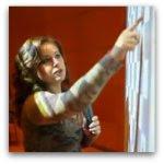 Polgár Judit és az interaktív tábla - Gyerekeket tanított a SMART Board interaktív táblán az ötvenszeres világklasszis
