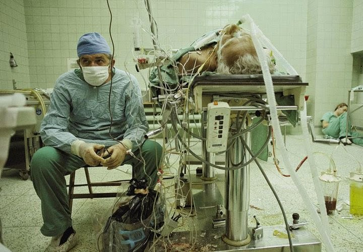 Dr. Zbigniew Religa, heart surgeon