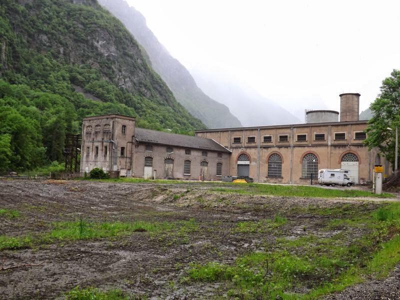 Centrale hydroélectrique des Clavaux