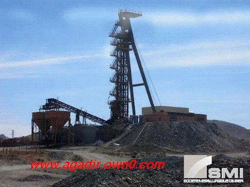 أكبر منجم لانتاج الفضة في افريقيا بجماعة اميضر القروية بضواحي تنغير 100401_machine