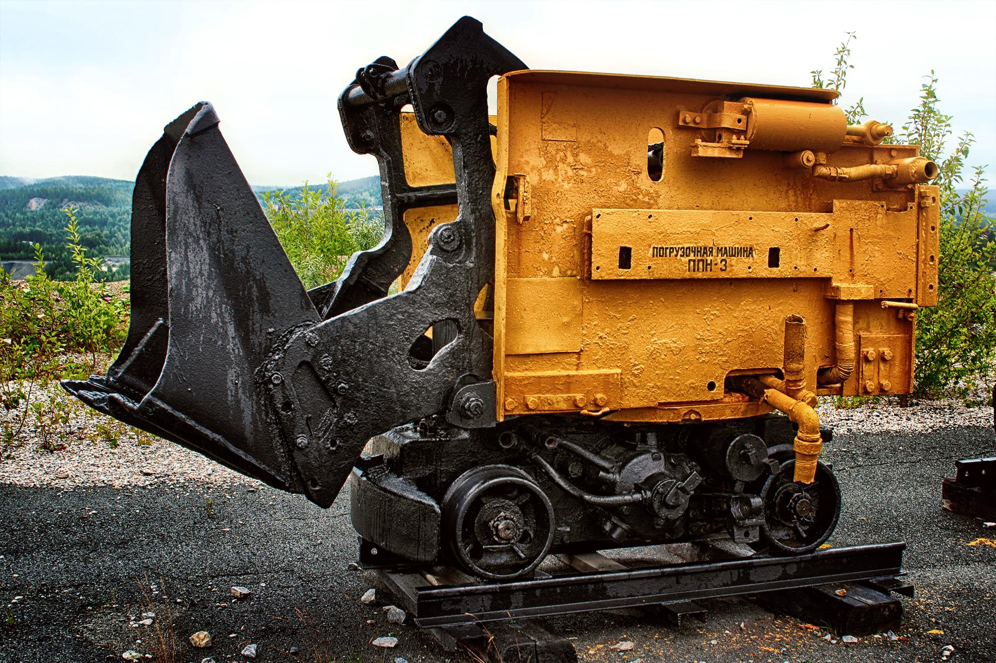 картинки шахтовой техники вам