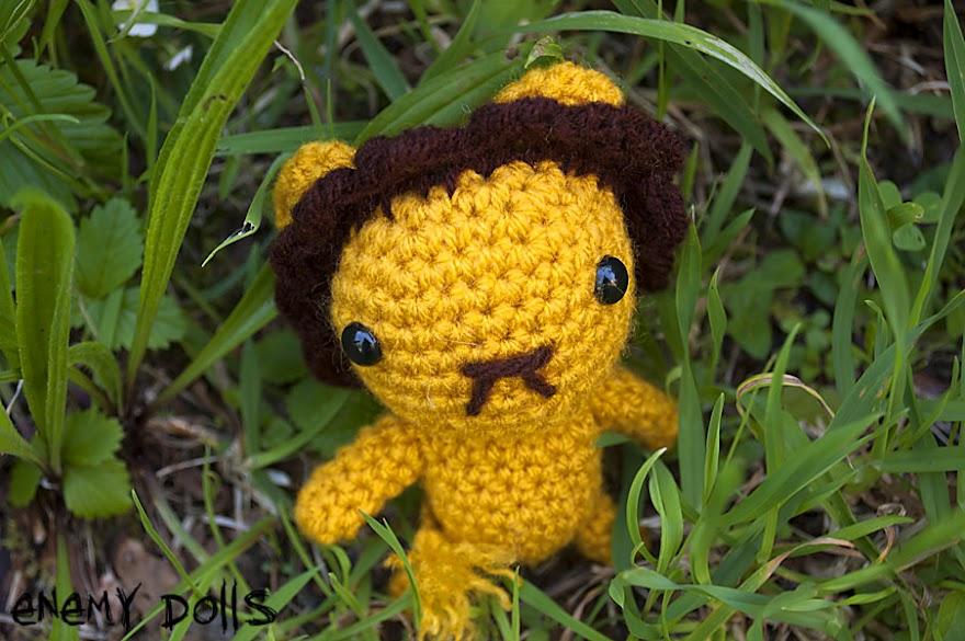 León amigurumi patrón libre - Lion amigurumi free pattern