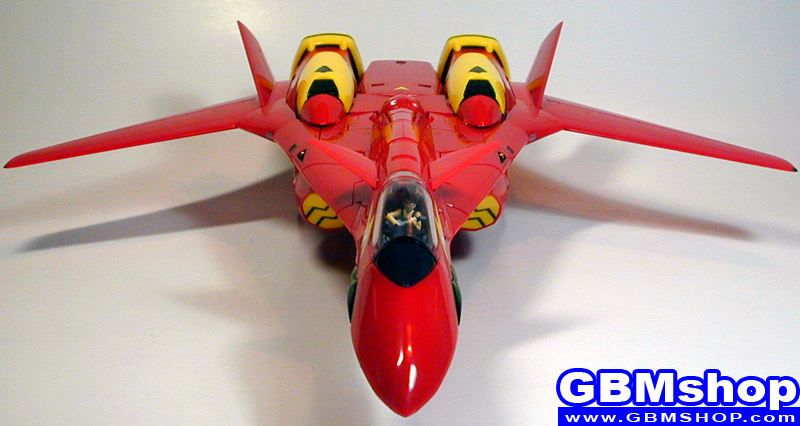 Macross 7 Yamato 1/60 VF-19kai VF-19 Kai Excalibur Custom Fire Valkyrie Fighter Mode