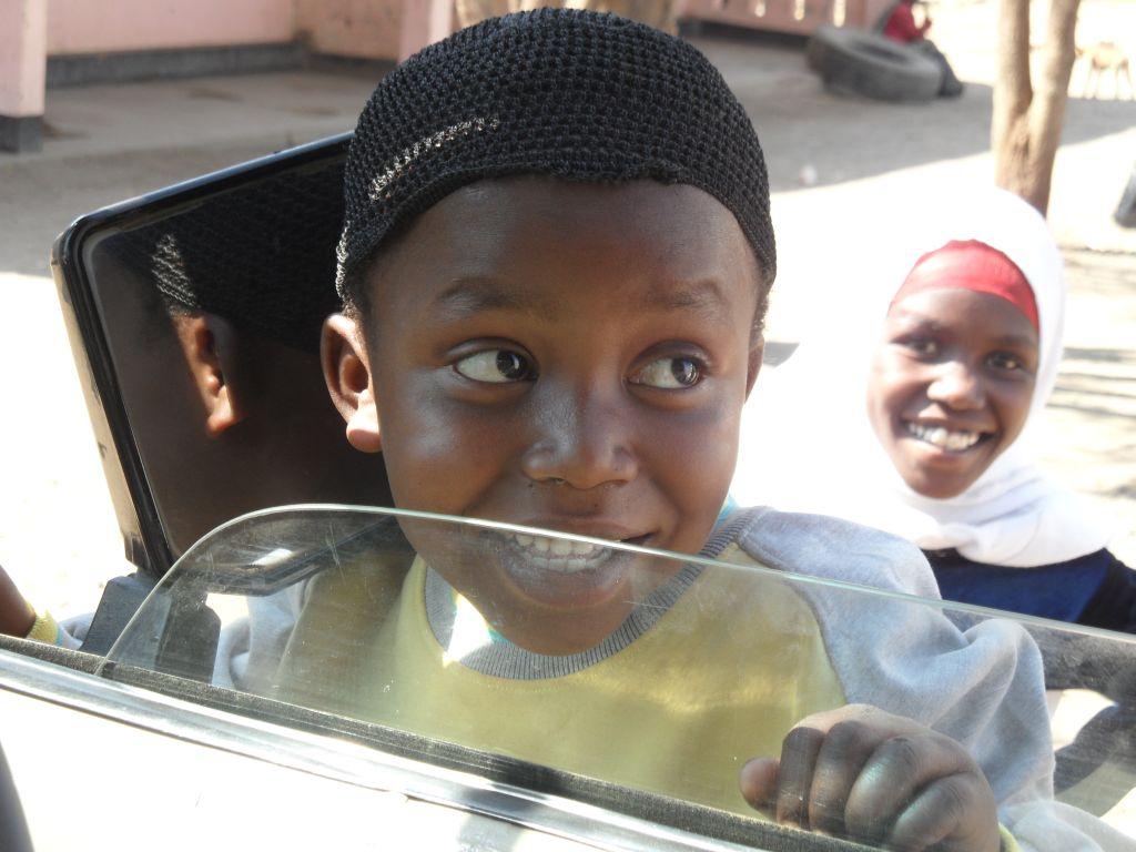 Tanzanya'lı çocuk
