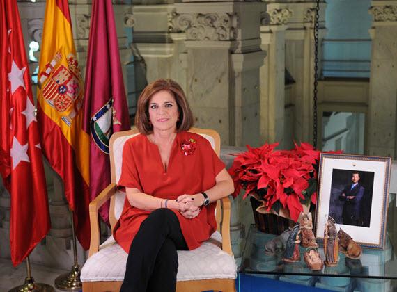 Mensaje de Navidad de Ana Botella, alcaldesa de Madrid