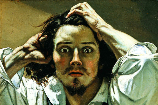 Courbet - hombre desesperado
