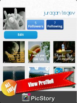 PicStory v6.9 48+ View Profile!!