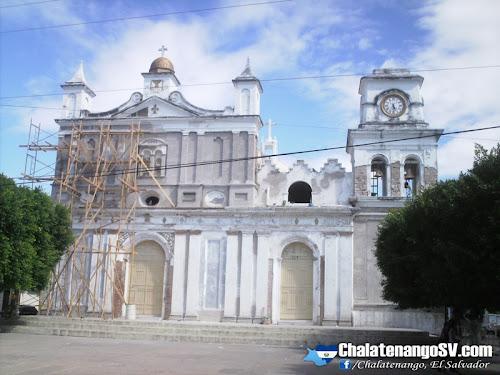 Restauración de Catedral de Chalatenango