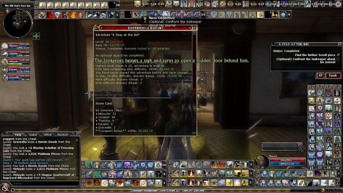 Quest report